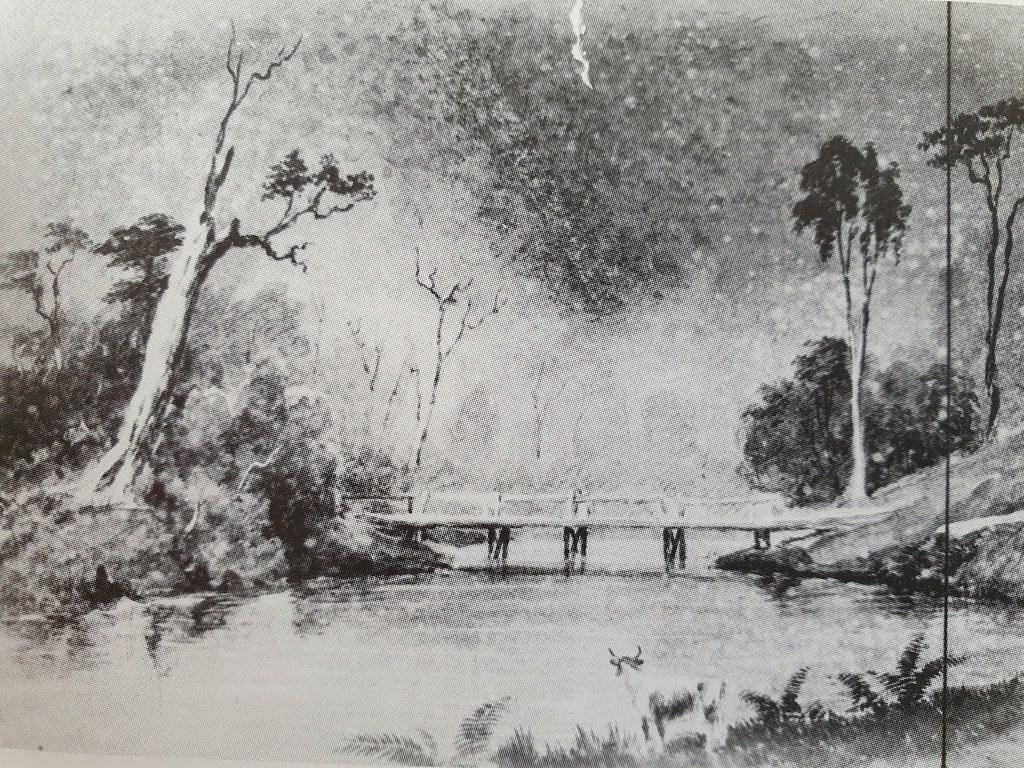 Breakfast Creek Bridge 1840
