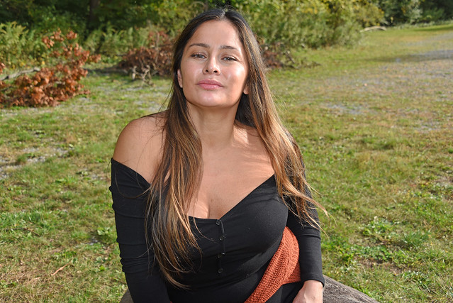 Picture Of Carolina Taken During A Fall Photoshoot In Cold Spring New York. Photo Taken Sunday October 18, 2020
