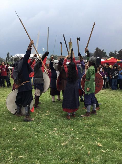 2018 Ormbitur Viking Mexico despues de la batalla del Festival Medieval del Bosque de Tláhuac