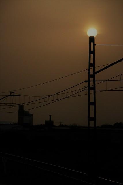 bombilla natural para el silo