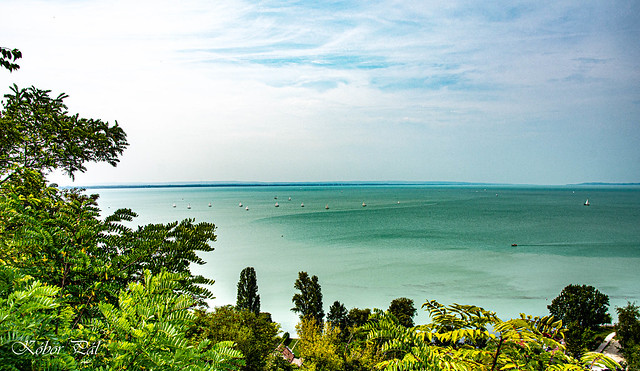 Hungary - This is how my camera saw Lake Balaton.