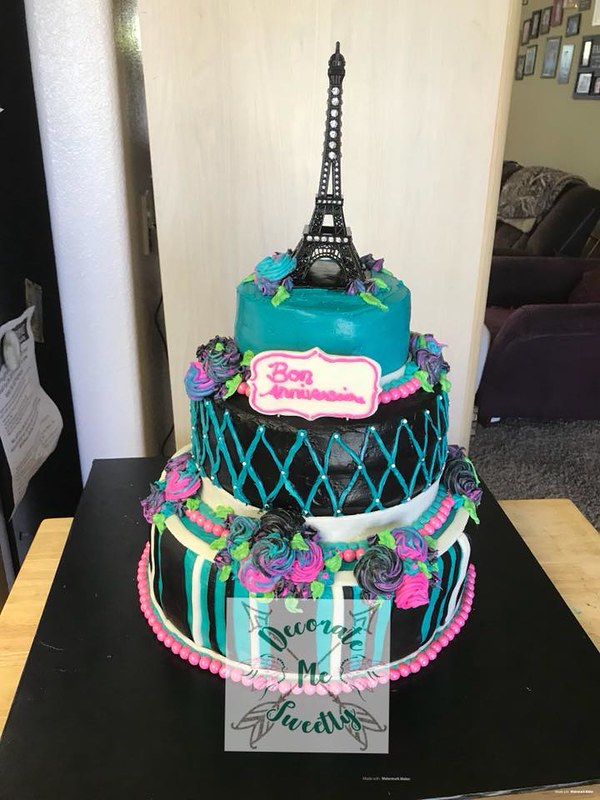 Cake by Decorate Me Sweetly