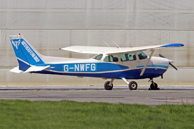 G-NWFG  -  Cessna 172P Skyhawk c/n 172-74192  -  EGSH 6/4/21