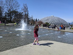 QE Park Fountain