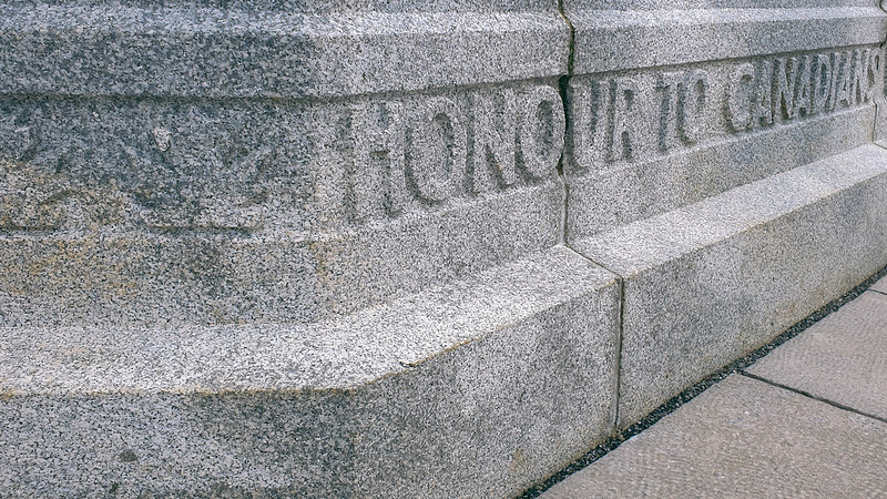 Honour to Canadians / Hill 62