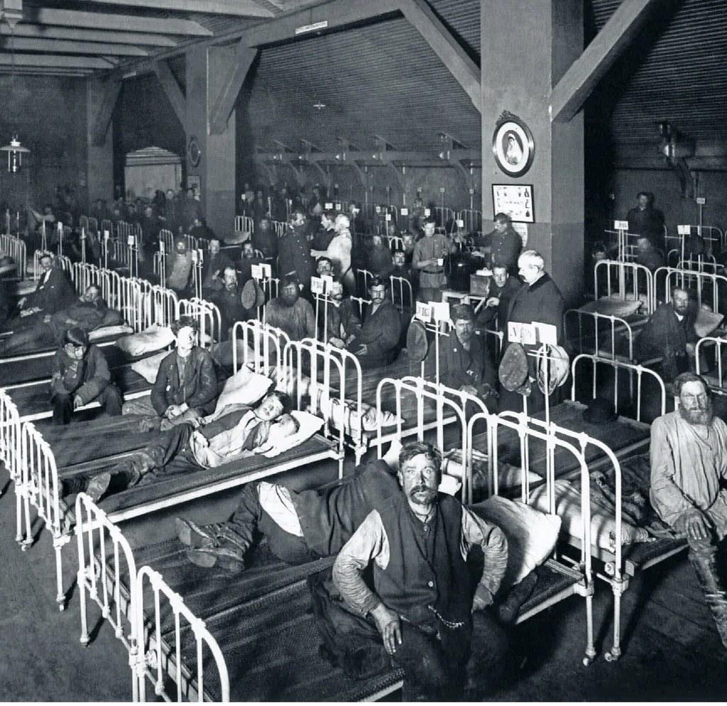 15. 1909. Спальня для рабочих Попечительства о Народной Трезвости