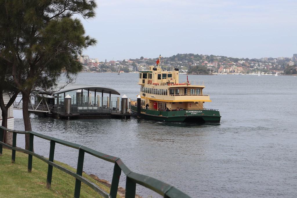 Sydney Ferries Scarborough at Cremorne Point on an F6 Mosman Bay to Mosman Bay