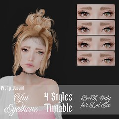 New Release - Yui Eyebrows