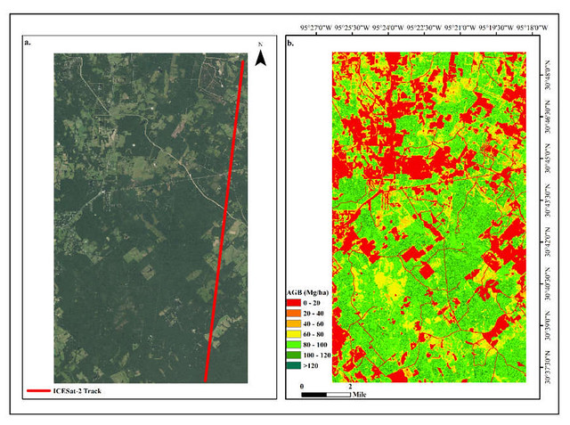 Imagery analyzed by ICESat-2.