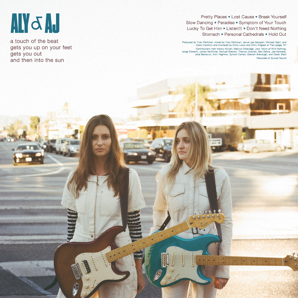 Aly & AJ - a touch of the beat...