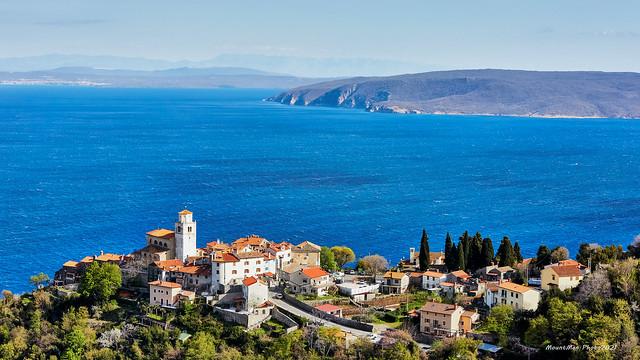 Mošćenice i najsjeverniji dio otoka Cresa