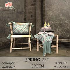 Bloom! - Spring Set GreenAD