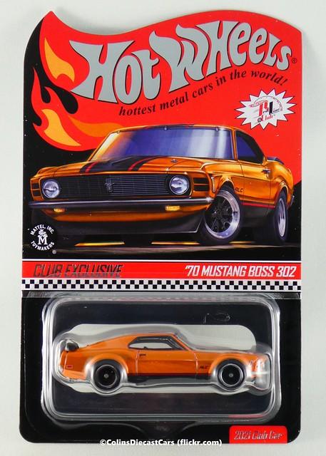 Hot Wheels - '70 Ford Mustang Boss 302