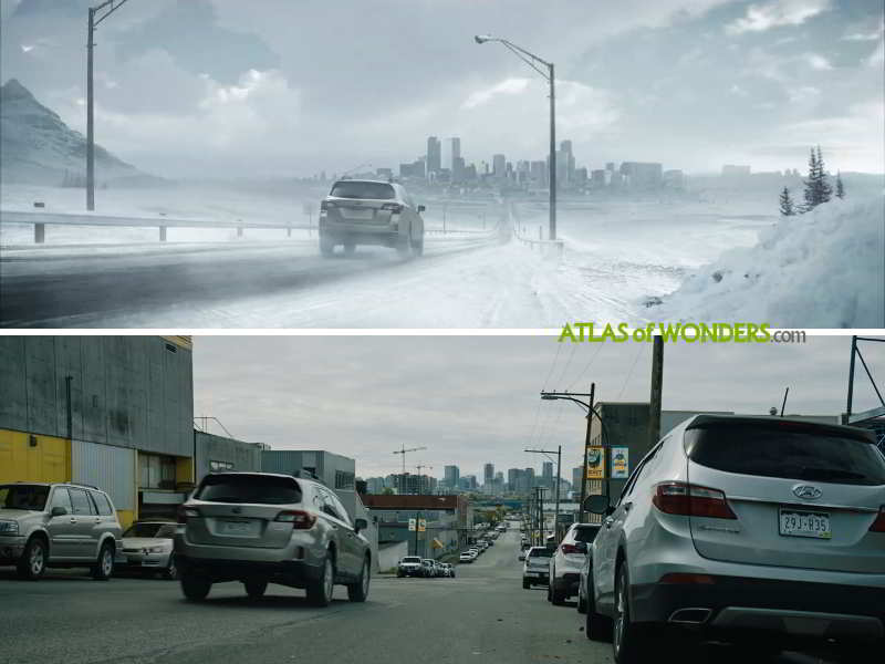 City comparison film Special Effects