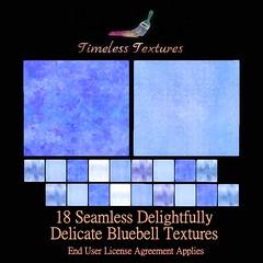 TT 18 Seamless Delightfully Delicate Bluebell Timeless Textures