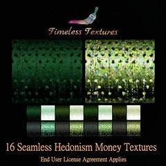 TT 16 Seamless Hedonism Money Timeless Textures