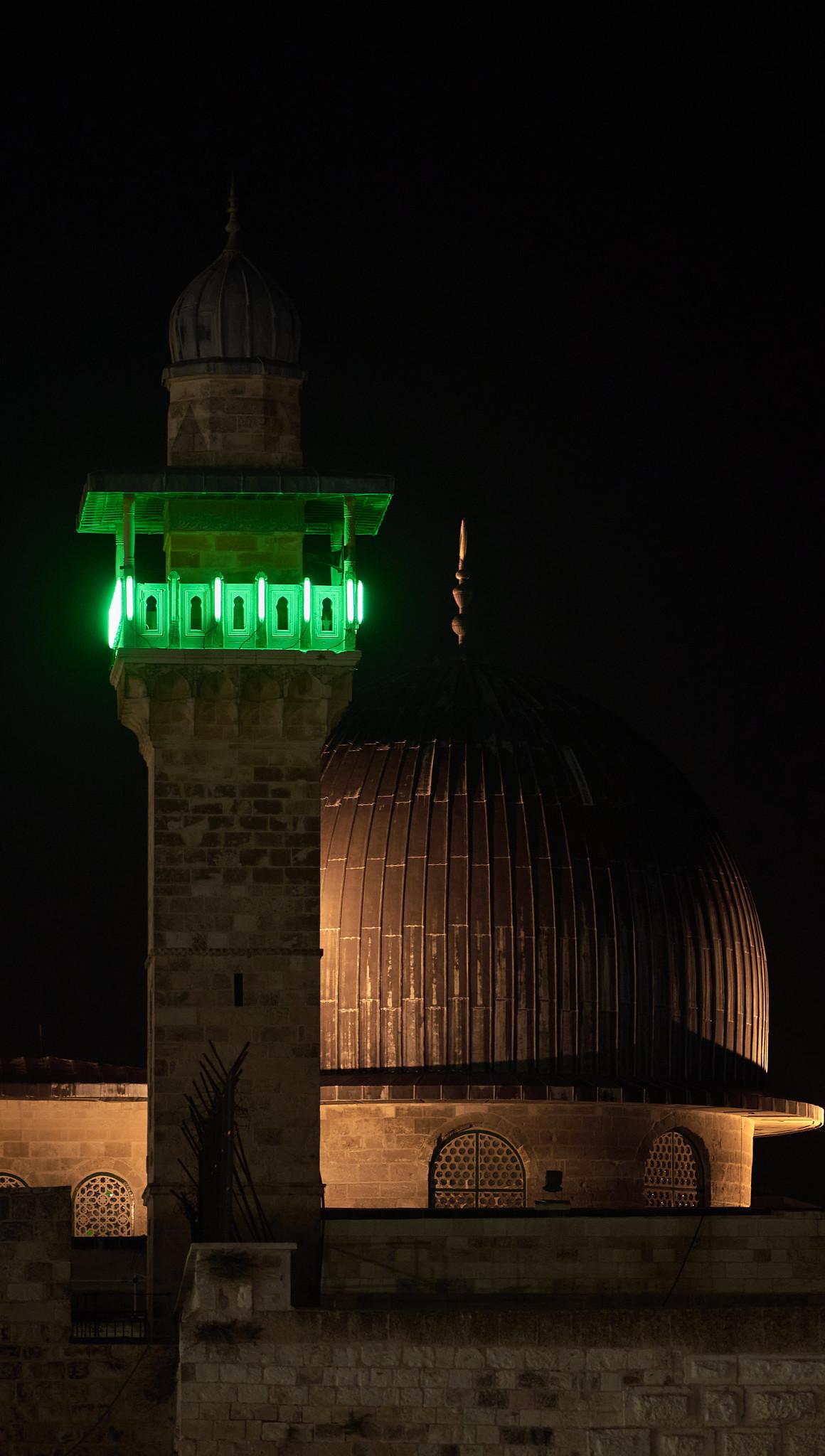Al-Aqsa Mosque by Night