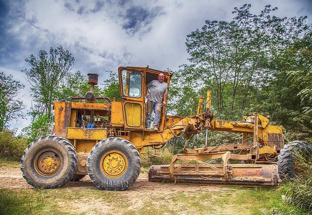 Conductor de tractor