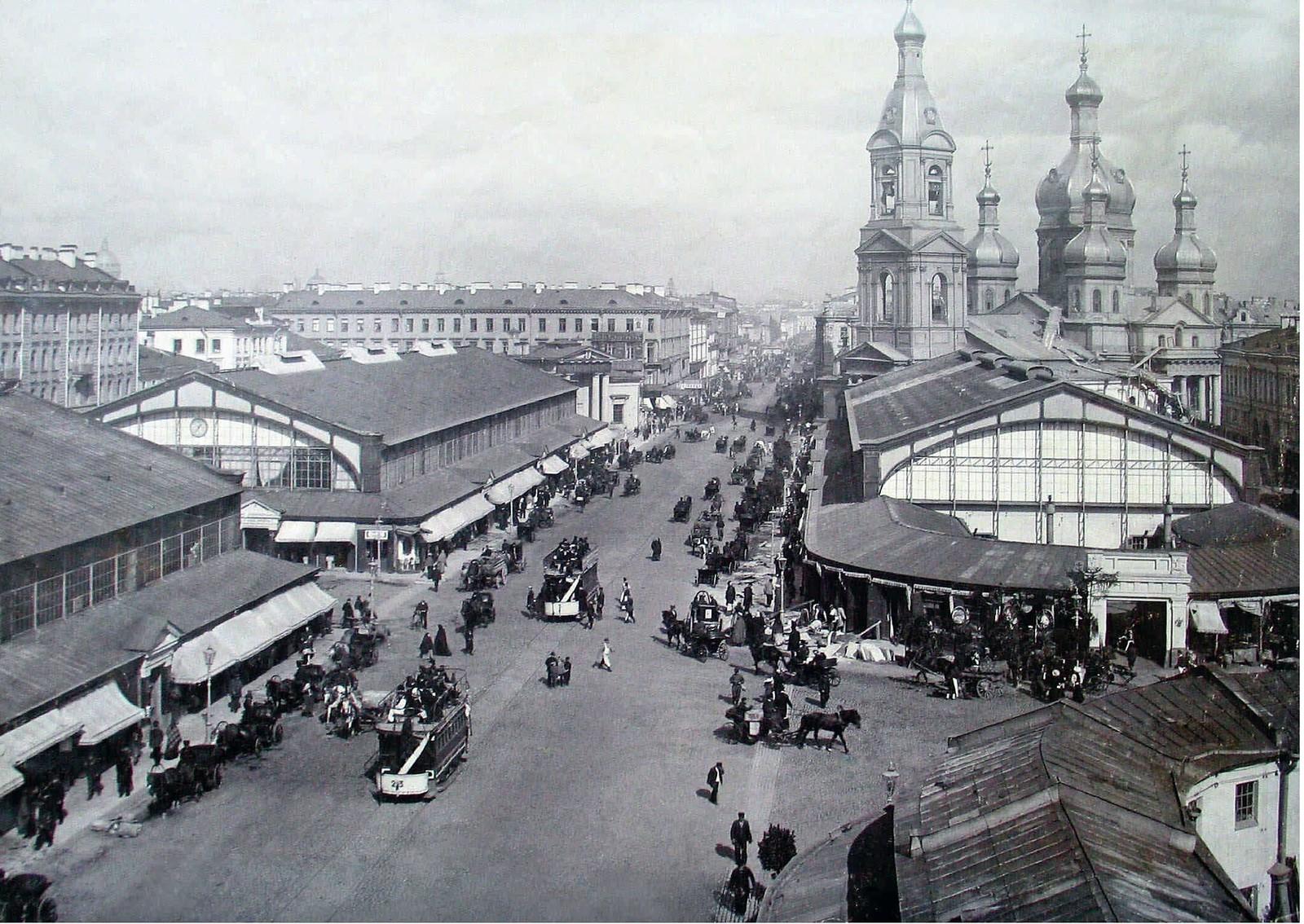 10. 1902. Сенная площадь. Успенская церковь