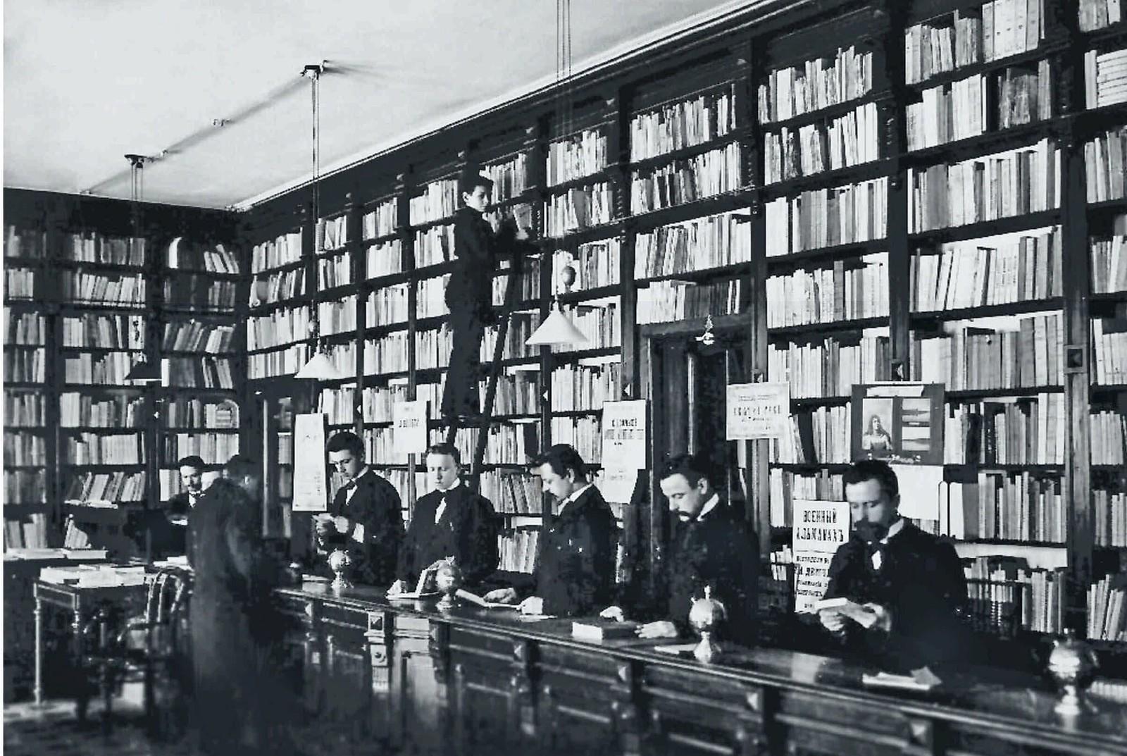 08. 1900-е. Редакция журнала Нива