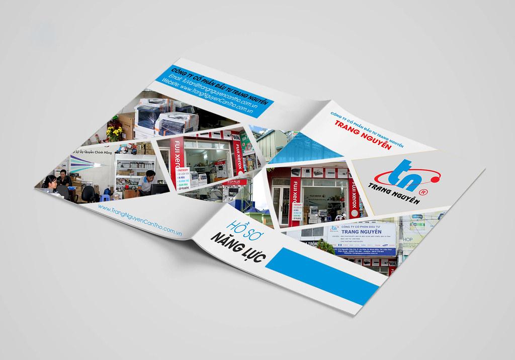 thiết kế Hồ sơ năng lực e-Brochure Cần Thơ 0915 32 6788