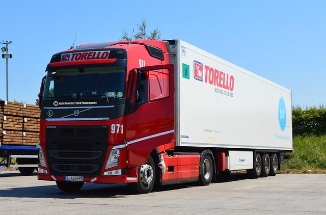Torello Transport BL 495RB (Slovakia) At Gledrid Services