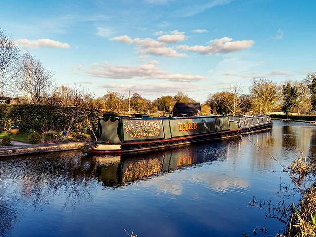 Wolseley Canal, Staffordshire, England