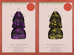 KiB Designs - Wera Minidress @Golden Days 7th April