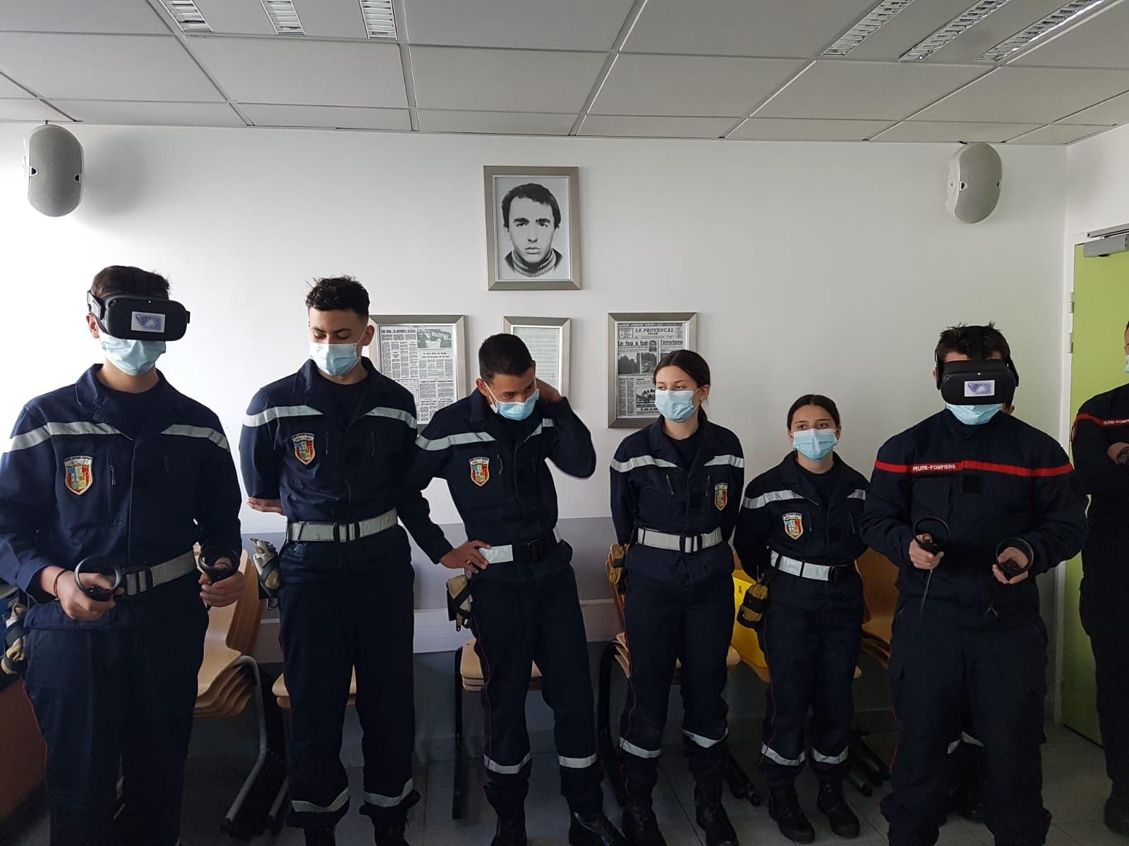 L'innovation au service des Jeunes sapeurs-pompiers