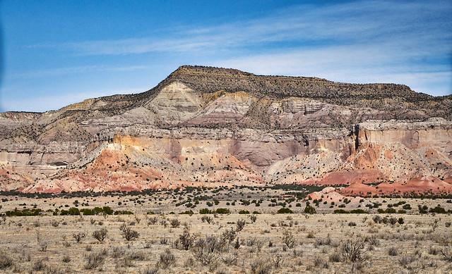 Ghost Ranch Cliffs 2