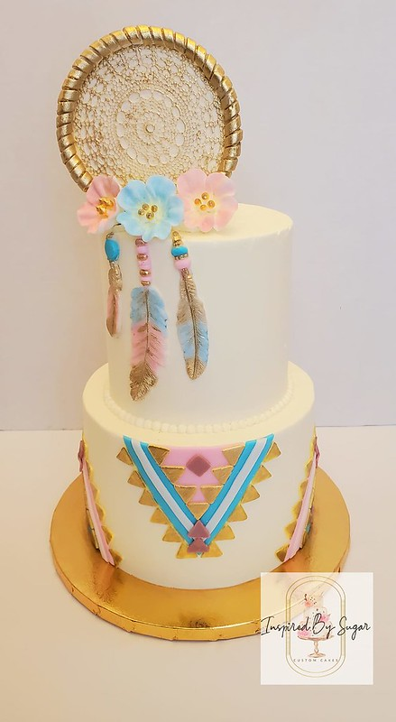 Cake from Inspired By Sugar LLC