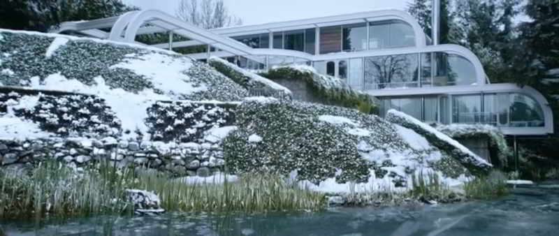 Modernist mansion featured in the movie