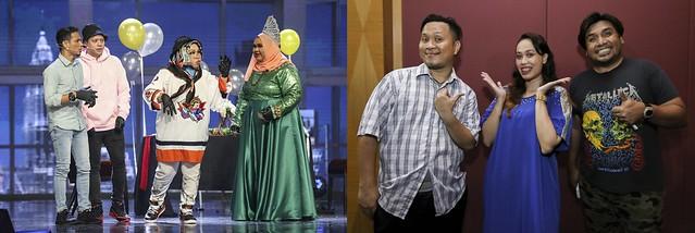 Rezeki ABC & ZUZUZU Berakhir Di Pentas Separuh Akhir Muzikal Lawak Superstar 2