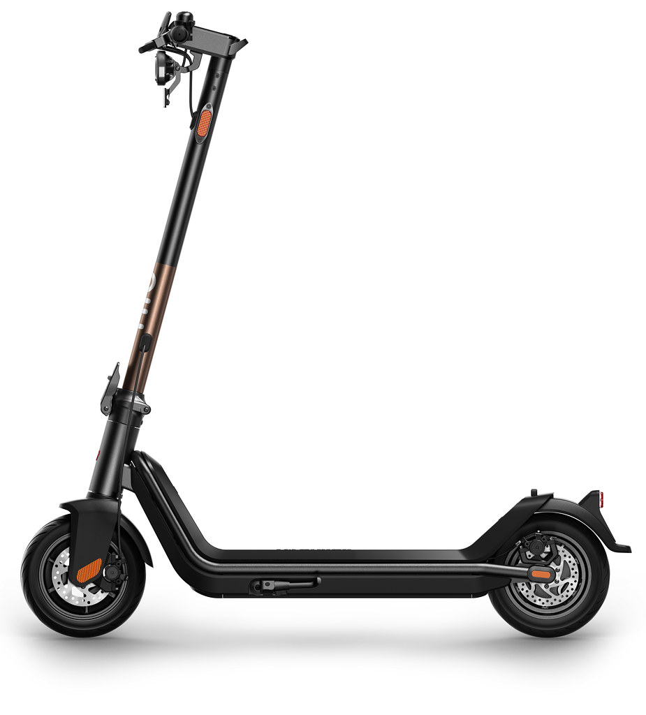 NIU Kick Scooter Pro Rose Gold - Side View