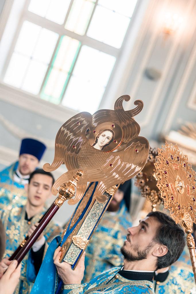 6-7 апреля 2021, Благовещение Пресвятой Богородицы / 6-7 April 2021, The Annunciation of the Theotokos