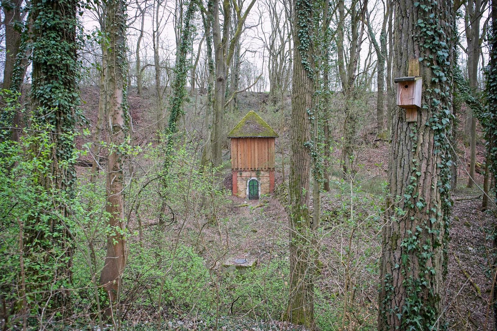 Kleines Wasserwerk im Landschaftsschutzgebiet Pfauengrrund