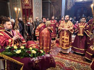 04.04.2021 | Божественная литургия в Софийском собое