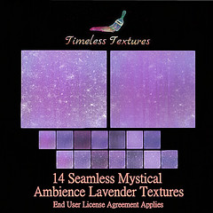 TT 14 Seamless Mystical Ambience Lavender Timeless Textures