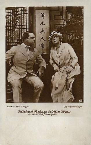 Michael Bohnen and Mia May in Herrin der Welt ()