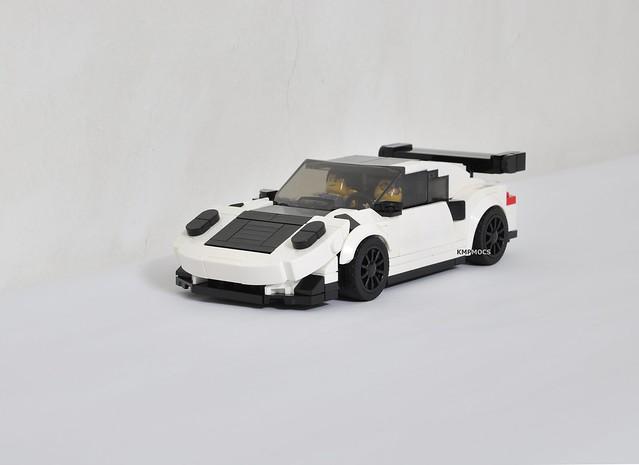 Porsche GT3 RS with Weissach Package