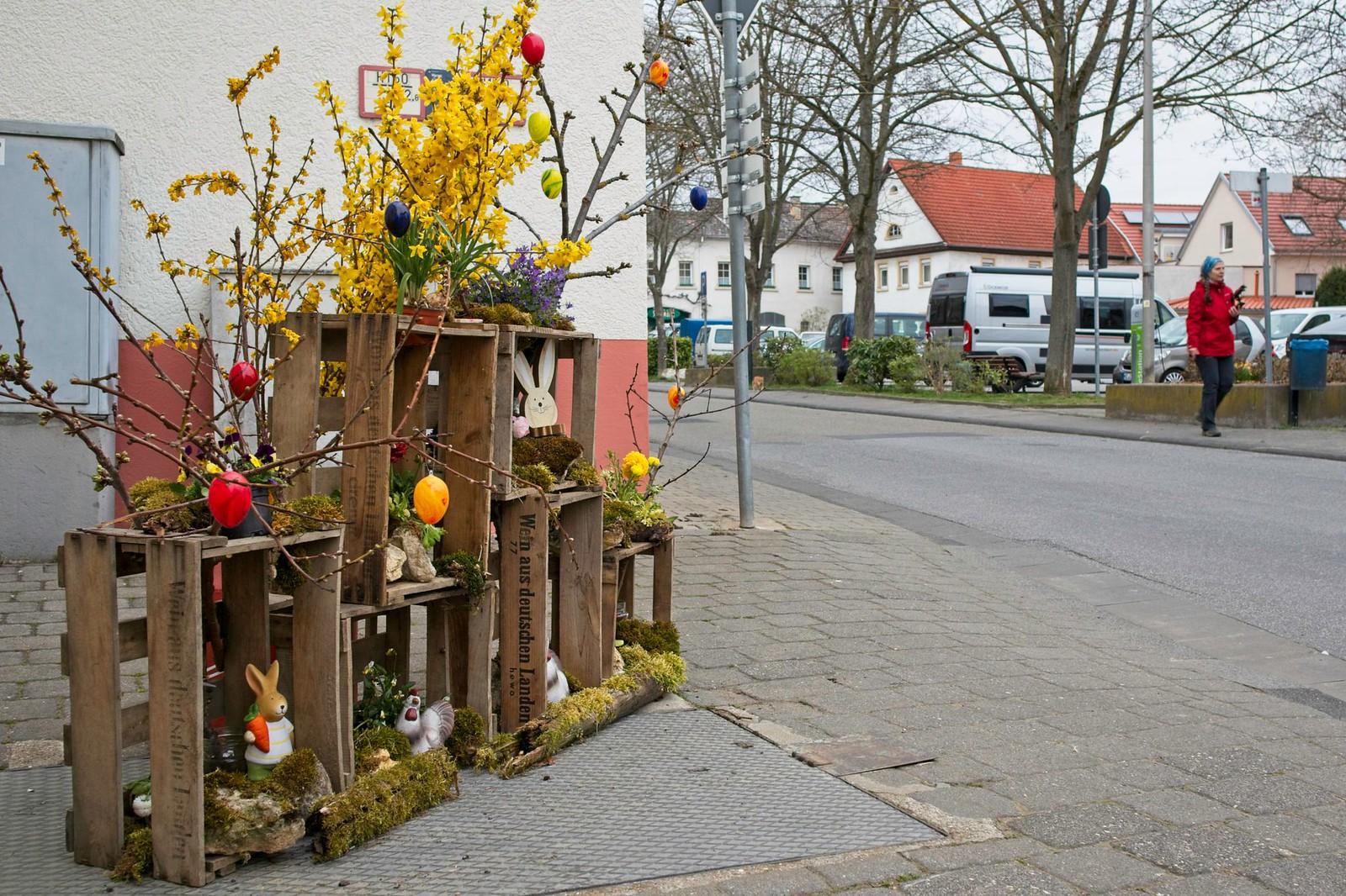 Osterschmuck in Schwabenheim an der Selz