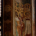 Padova, Veneto, chiesa degli eremitani, coro, mural: saints