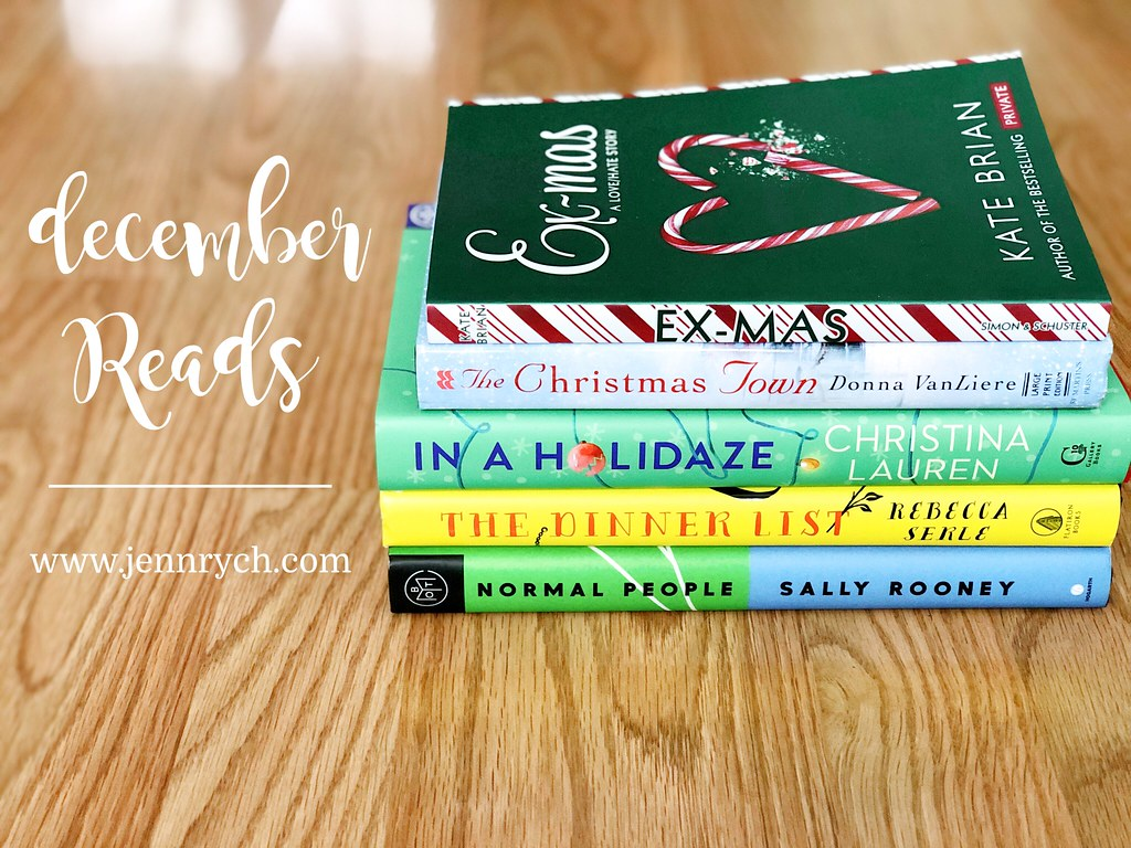 All the books I read in December 2020 | www.jennrych.com
