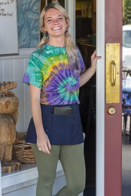 Tie Dye Waitress