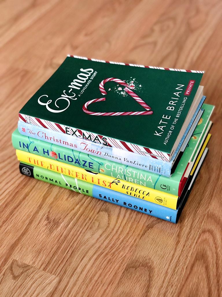 December 2020 Book Stack