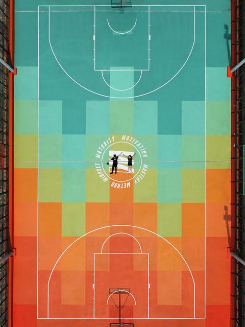 Ming Tak Basketball Court
