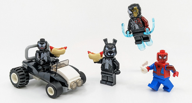 LEGO 40454 Spider-man Versus Venom and Iron Venom 63pcs for sale online