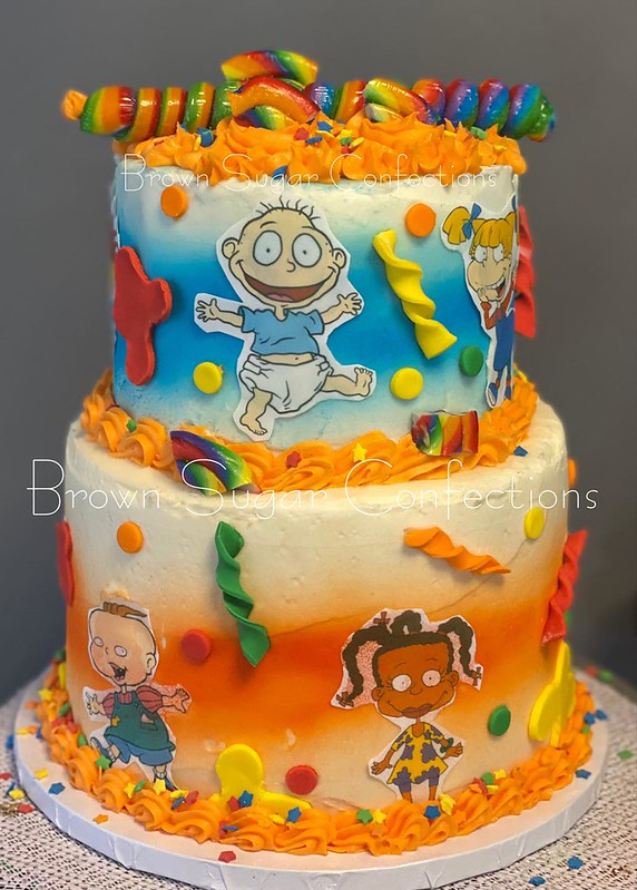 Cake by Brown Sugar Confections