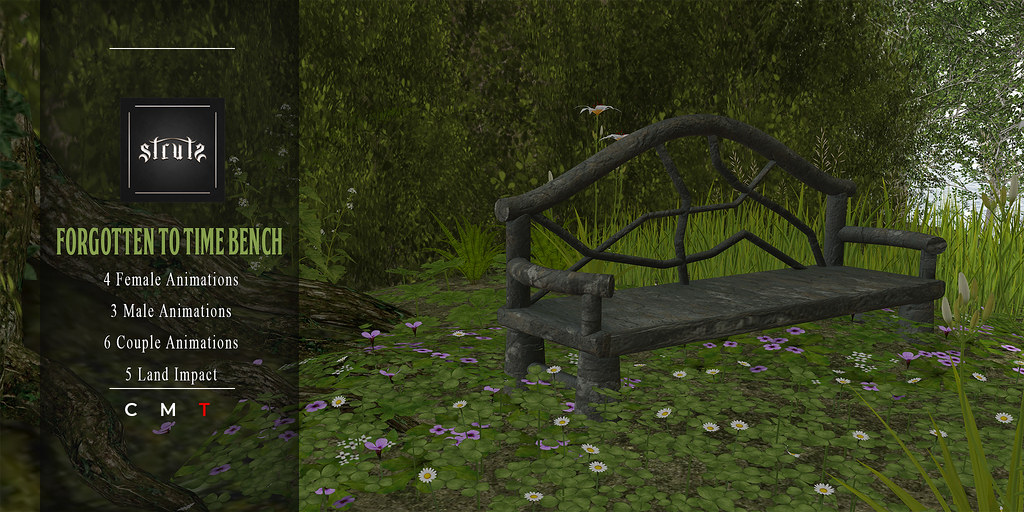 [Struts] – Forgotten to Time Bench