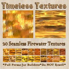 TT 20 Seamless Firewater Timeless Textures